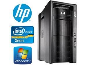 8 CORE COMPUTER with 16 Hyperthreads |HP Z800 Workstation | 2 X Intel QUAD CORE Xeon up to 2.93GHz| NEW 1TB SSD + 4TB HDD | 48GB DDR3 RAM - WIFI - 4 Monitor Capable - USB 3.0