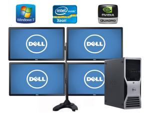 AUTOCAD 3D and 2D Designing and Rendering Computer System- Dell Precision T5500 Workstation- 18GB of Ram- 8 Core 2X 2.93 Quad Xeon Intel Processors- 500GB SSD + 4TB