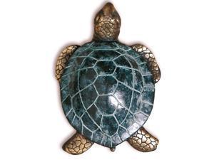 Solid Brass Sea Turtle Door Knocker