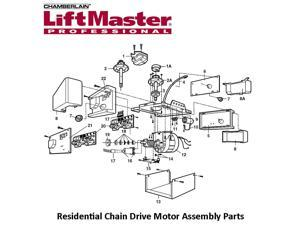 Liftmaster 41D3058 Universal Replacement Motor & Bracket Assembly