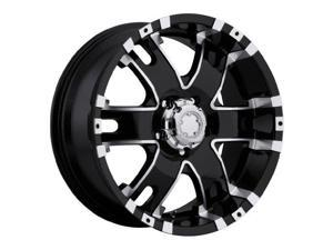 Ultra Baron 9.5X22 Black - Diamond Cut Rim