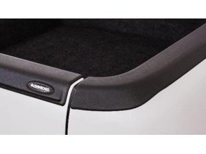 Bushwacker 178501 Black Smoothback Ultimate Bed Rail Cap