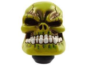 Bully Pm2270 Green Skull Shift Mount Knob