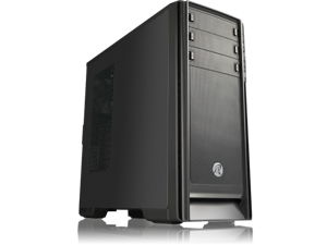 """RAIJINTEK AGOS, Removable 3.5""""HDD Cage, USB 3.0, 12025*2 Preinstalled, 7 PCI Slots, Dust-Control Filters, Tool-Free System for ODD & HDD, Support 410mm VGA Card & 165mm CPU Cooler, Efficient air flow"""