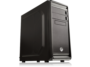 RAIJINTEK ARCADIA - USB 3.0, 7 PCI Slots, 200mm Width, Tool-Free for ODD & HDD, Dust-Control Filters, 12025 Fan Preinstalled, Supports 400mm VGA Card and 160mm CPU Cooler, 240mm radiator option on top