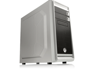 RAIJINTEK ARCADIA WHITE - USB 3.0, 7 PCI Slots, 200mm Width, Tool-Free design, Dust-Control Filters, 12025 Fan Preinstalled, Supports 400mm VGA Card and 160mm CPU Cooler, 240mm radiator option on top