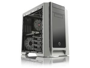 RAIJINTEK AENEAS White - Removable M/B Frame and Tool-Free for ODD & HDD, Dust-Control Filters, 14025*2 & 12025*2 Fans Preinstalled, 0.8mm SGCC - VGA Card up to 310mm & CPU Cooler Heigth up to 180mm