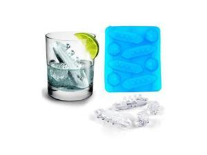 New Easy Fun Boat Gin and Titanic Ice Cube Trays Mould