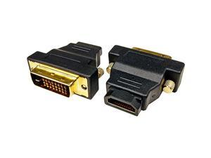 New Black Cables Unlimited ADP-3780 DVI-D Male to HDMI Female Adapter