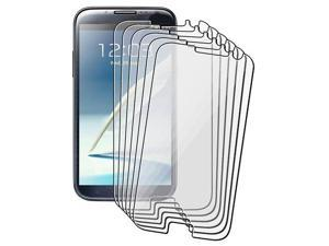 6-Pack Reusable Screen Protector For Samsung Galaxy Note II N7100
