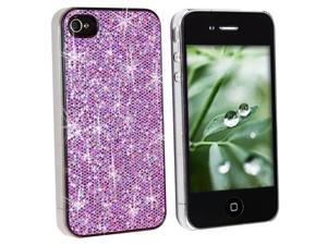 Sparkling Cases Combo Bling Shining Faceplates For iPhone 4 Version (4 Colors)