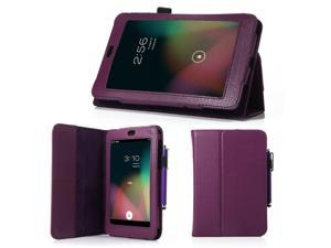 "7 "" Purple Android Tablet Case with Stand + Screen Protector for google nexus 7"