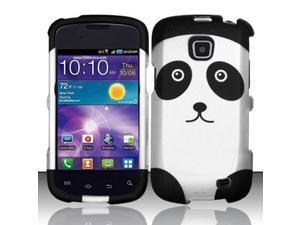 For Samsung Illusion / Galaxy Proclaim i110 (/Straight Talk) Rubberized Design Cover - Panda Bear