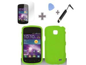 New Rubberized Hard Cover Case+Screen Protector for Samsung Galaxy Proclaim i110