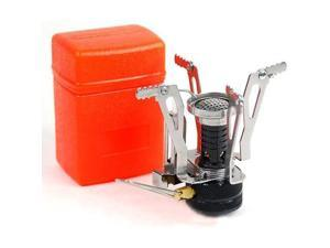 New Ultralight Backpacking Canister Camp Stove with Piezo Ignition 3.9oz