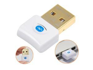 White 4.0 V4.0 USB Bluetooth Dongle Adapter EDR for Win7 Windows 7 64 32 Vista