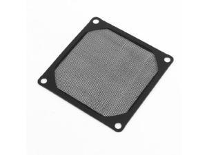 8cm x 8cm PC Cooler Fan Aluminum Dustproof Meshy Filtere Black