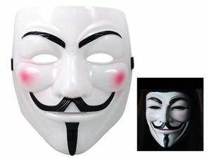 Anonymous V for Vendetta Guy Fawkes Fancy Dress Halloween Face Mask