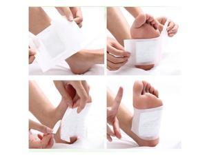 100pcs Therapeutic Detox Foot Pads Detoxify Patch Toxins- Cleaning Detox Pads UK