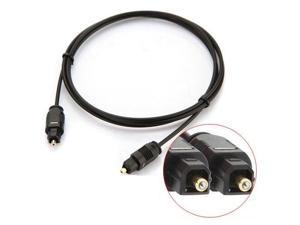 2M Metre Digital Fibre Optical Audio Toslink SPDIF MD DVD Gold Cable Lead Plug