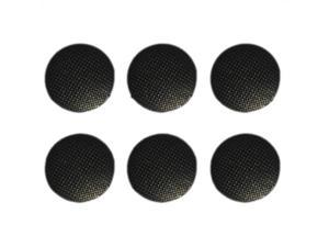 6pcs Analog Joystick Stick Replacement Cap Cover Button For Sony PSP 1000 Black