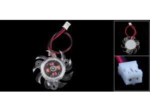 35mm Plastic VGA Graphic Card Cooling Fan Cooler for PC Computer