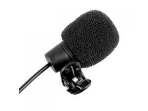 3.5mm Clip on Lapel Microphone for PC Laptop