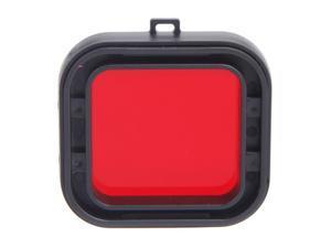 Polarizer Underwater Diving UV Lens Filter for GoPro Hero3+ Red
