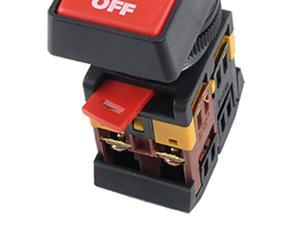 ON OFF START STOP Push Button w Light Indicator Momentary Switch Red Green Power