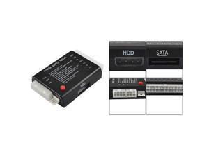 20/24 Pin PC ITX ATX BTX SATA Computer Power Supply Tester Black