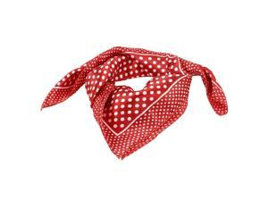 Women's Dots Pattern Polyester Neck Scarf