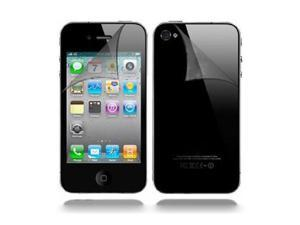 H&V-SCREEN PROTECTOR For Apple iPhone 4 / iPhone 4S 16GB & 32GB - FRONT AND BACK FULL BODY PROTECTORS VALUE PACK (6 FRONT 6 BACK)