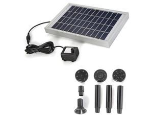 Solar Energy Water Pump Panel for Fountain Pond 12V 380L / H