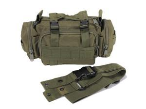 Waist Pack Pouch Military Camping Hiking Bag - Green