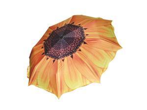 Unique Elegant Women Sunscreen Sunflower Super Block Sun Rain Folding Umbrella