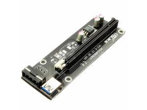 USB 3.0 PCI-E Express 1x to 16x Extender Riser Card Adapter