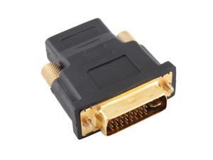 Gold Plated Hdmi Female To Dvi-I Dvi 24+5 Male Adaptor Converter