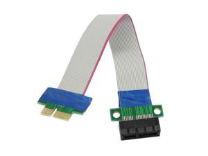 PCI-Express PCI-E 1X Riser Card Flex Extender Extension Cable for PC
