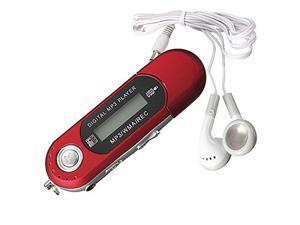 8G USB Flash Drive MP3 Player FM Walkman red