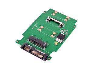 """mini MSATA PCI-E SSD 50mm to 2.5"""" SATA 7+15Pin Adapter Converter Card"""