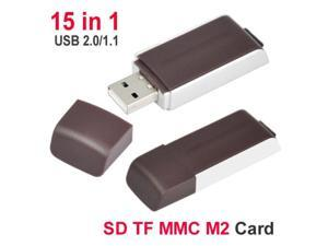 Chocolate Fast SD SDHC Memory Card Reader Writer Dongle Pen USB 2.0