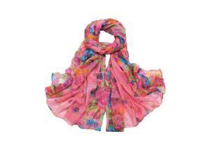 Women's Spring Autumn Fashion Watermelon red Soft Big Long Scarf Vintage Printing Scarves 160*50cm