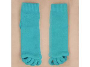 Comfort Massage Toe Alignment Socks - Stretch Relieve Pain -Sky Blue