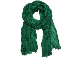 New Fashion Solid Color Shawl Scarf Wrap for Women (Green)