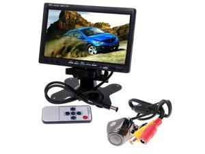 """MONITOR FOR CAR - TFT SCREEN 7 """"- DVD, VCD, + REAR VIEW REVERSING CAMERA ANGLE SEALED COLOR 170"""