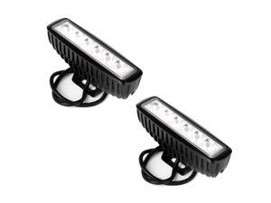 2PCS 18W SPOT BEAM LED WORK LIGHT BAR 4WD SUV Fog Lamp