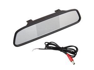 "4.3 ""TFT LCD Display Monitor rearview mirror rearview mirror AUTO CAR DVD AV"