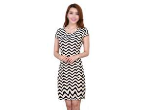 New Fashion Women Summer dress Slim Tunic Milk Silk Stripe dresses Casual Plus Size sexy bodycon dress vestidos-L