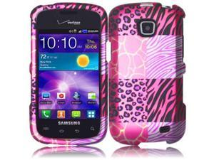 Hard Design Cover Case For Samsung Galaxy Proclaim S720C Illusion i110 Pink Exotic Skins Accessory