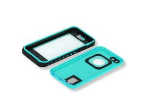 Red pepper Waterproof Case Underwater 6.6ft Shock Dirt Snow Proof Cover for iPhone 5C Grass Blue